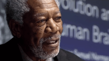 Morgan Freeman cannot do much with his flimsy role.