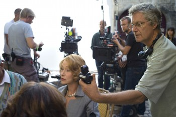 Swedish director Lasse Hallström (here with Helen Mirren) is the right man for this confection.