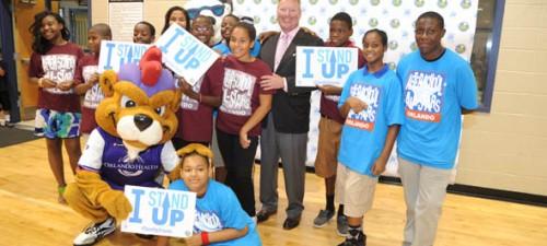 Orlando Mayor, Zebra Coalition 'Stand Up' to bullying