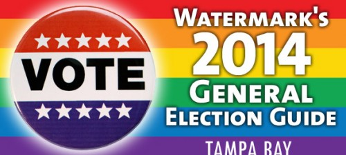 Watermark's 2014 General Election recommendations for Tampa Bay