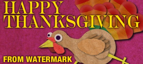 Team Watermark: Why We're Thankful 2014