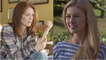 Julianne Moore will likely win for her magnificanet work, though most audiences will have seen Rosamund Pike's turn as a conniving wife.