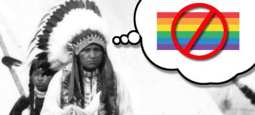 Handful of Native American tribes dig in against same-sex marriage