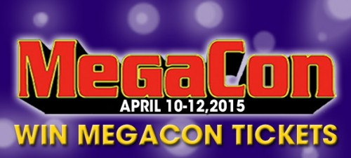 Watermark's ticket giveaway to MegaCon's opening day