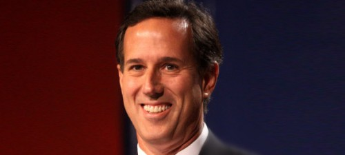 Rick Santorum: schools only celebrate gay marriages