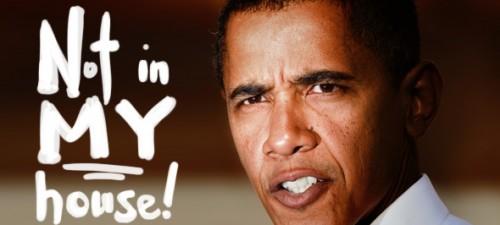 Obama scolds transgender heckler