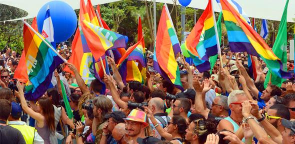 Paris Gay Pride in Parade and Parties
