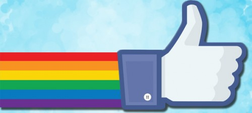 Facebook puts 26 million profiles somewhere under the rainbow