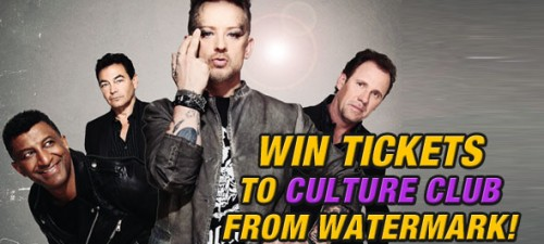 Watermark is giving away tickets to see Culture Club at Hard Rock Live