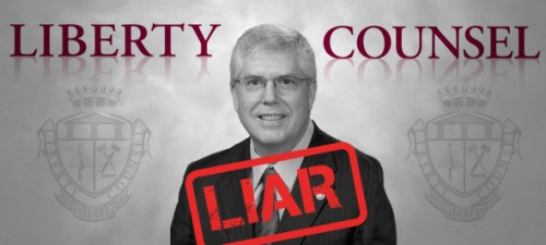 National embarrassment: Orlando-based hate group Liberty Counsel lies about Kim Davis rally