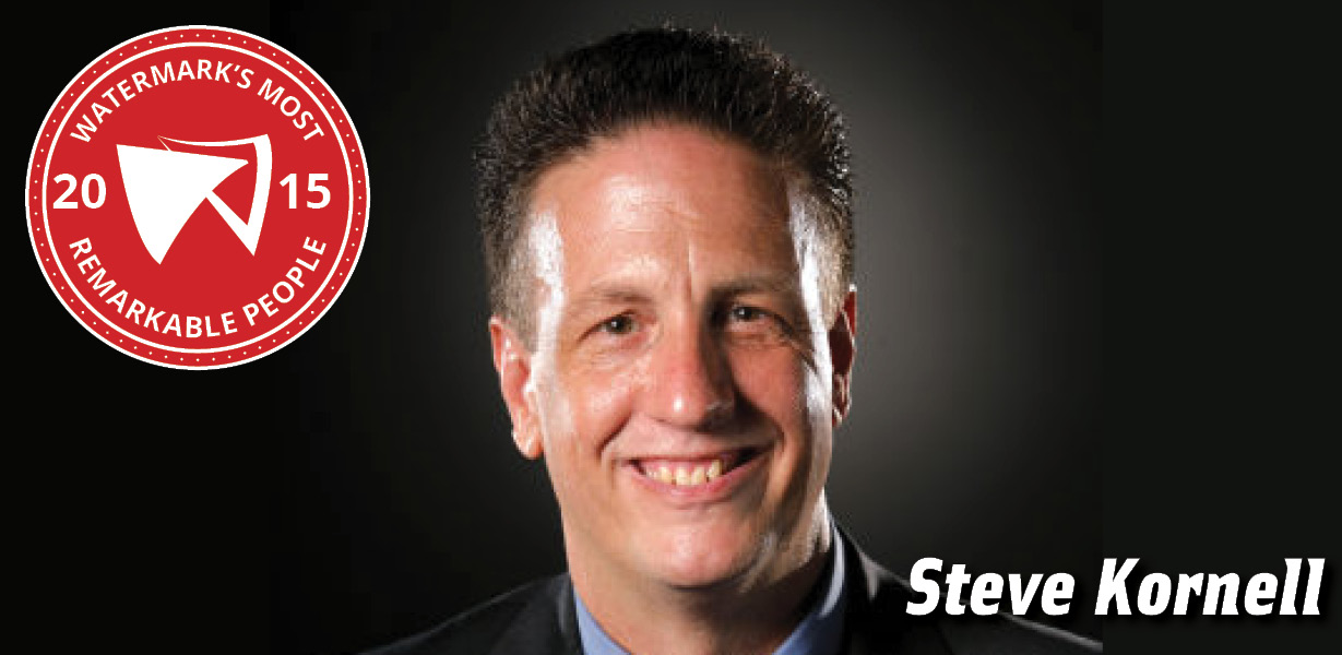 Steve Kornell WATERMARK MOST REMARKABLE PEOPLE 2015