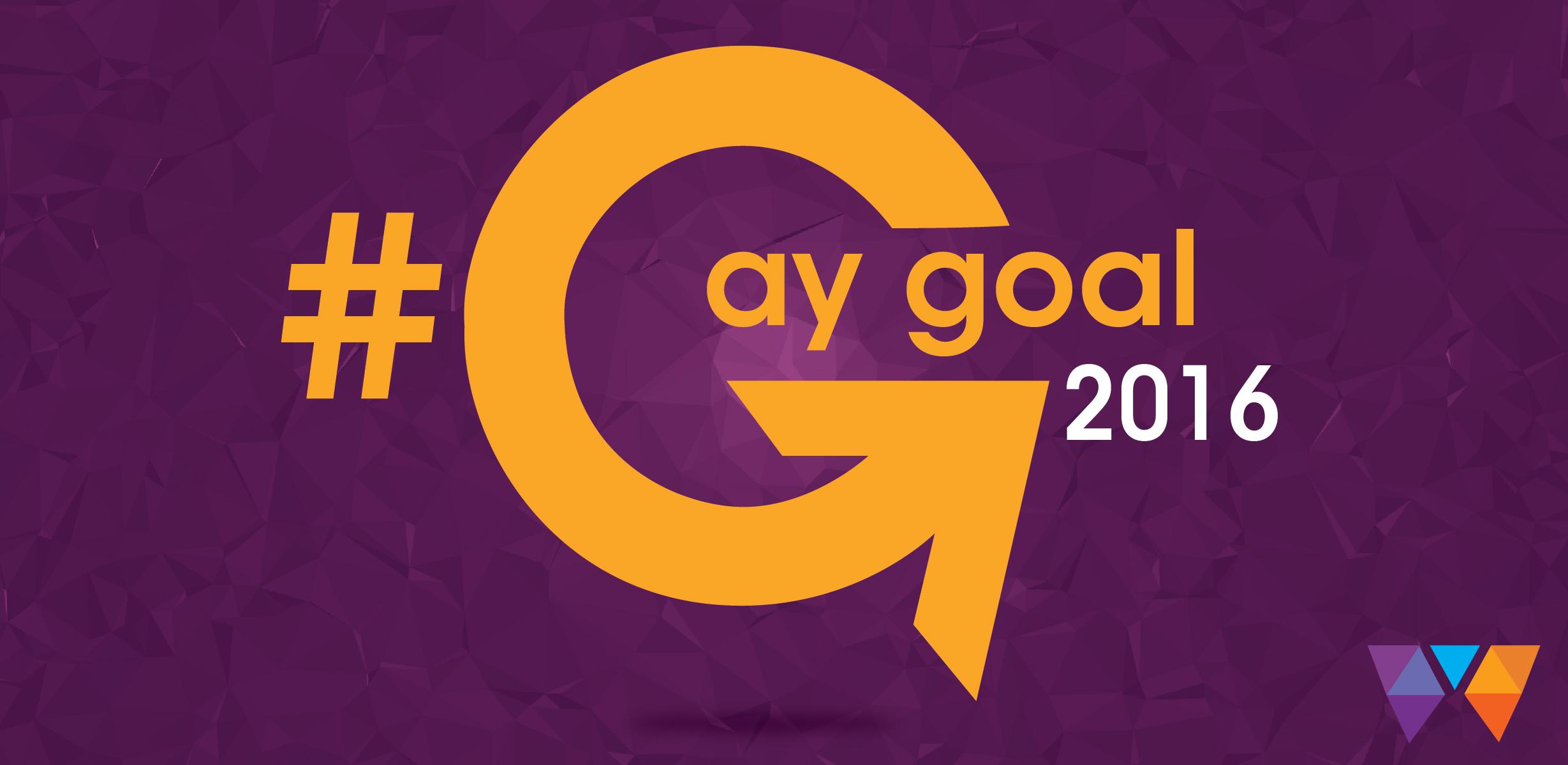 #GayGoal2016 Watermark