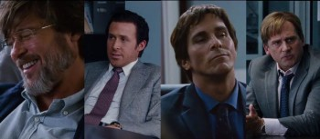 The Big Short is loaded with a strong cast, including Pitt, Gosling, Bale, and Carrell.