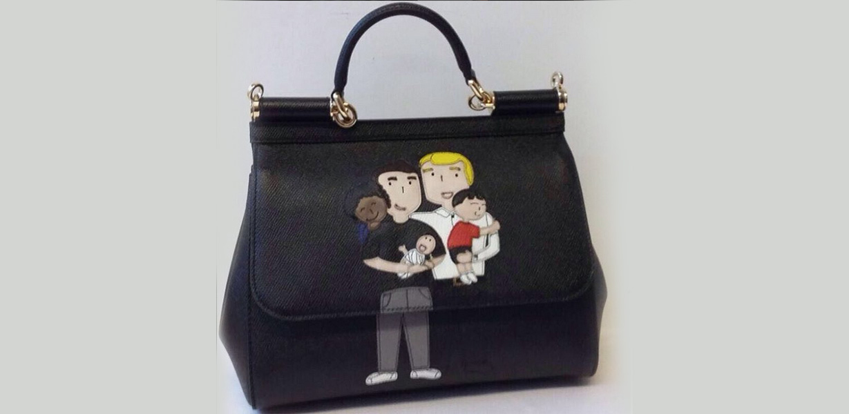 1c83f3b61c Dolce & Gabbana release handbags, t-shirts celebrating same-sex families