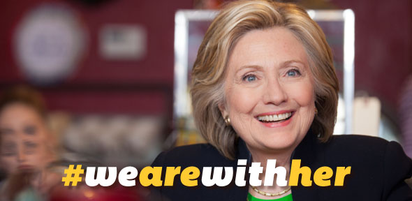 hillary clinton watermark endorsement