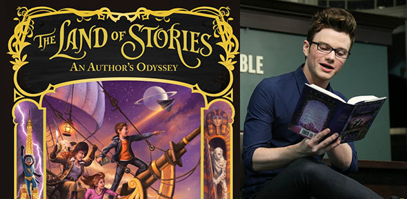 Chris Colfer Book Signing Tour Tickets