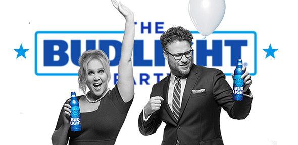 Amy Schumer, Seth Rogen Take On Gender Identity In New Bud Light Ad