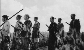 I'm probably not the only one who prefers the Japanese original, Seven Samurai.