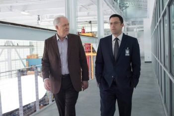 Great actors like John Lithgow (pictured here), Jean Smart, and Jeffrey Tambor are wasted in The Accountant.
