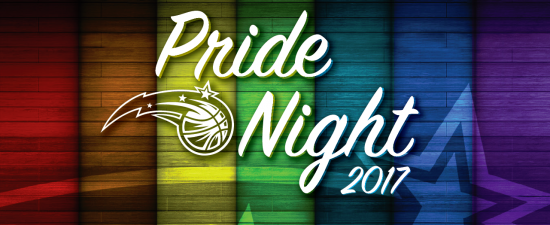 Watermark Giveaway: 4 Ultimate Seat passes to the Orlando Magic's Pride Night
