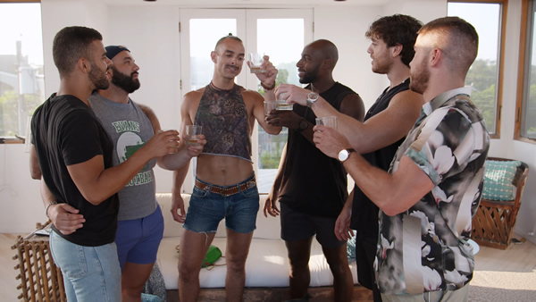 'Fire Island' star Patrick McDonald dishes on housemates - Watermark Online