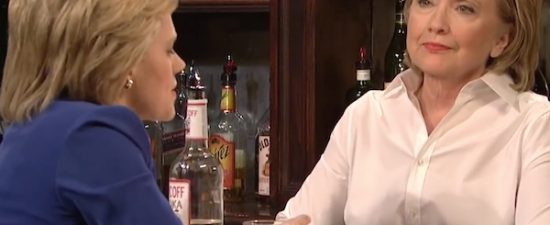 Hillary Clinton teared up watching Kate McKinnon's 'SNL' tribute