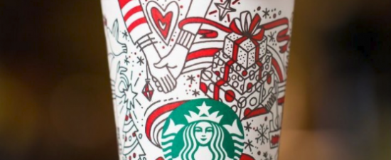 Starbucks holiday cup sparks social media buzz over lesbian hands theory