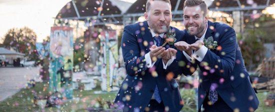 Watermark's Wedding Bells: Austin & Philip Gustin-Helms