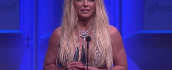 Britney Spears 'broke' the GLAAD Media Awards