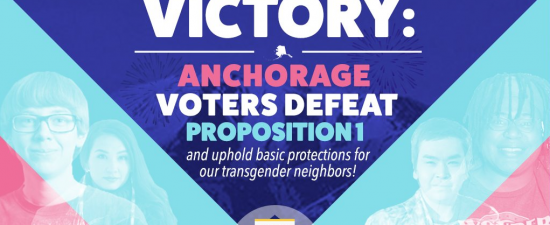 Anchorage voters first in the nation to reject anti-trans bathroom bill