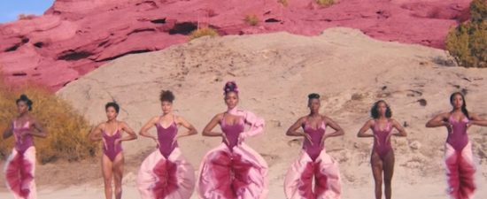 Janelle Monáe celebrates the female anatomy in 'Pynk' music video