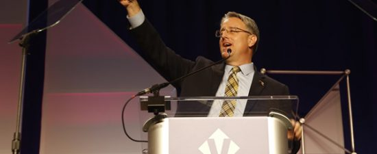Madaleno mocks Democratic opponent at Victory Fund brunch