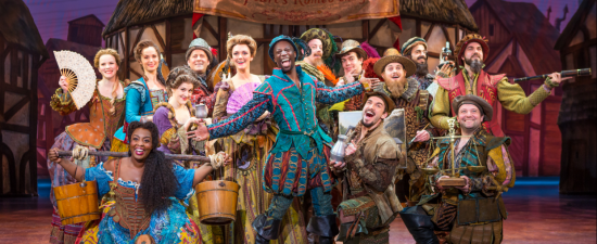 'Something Rotten!' actor Nick Rashad Burroughs talks about being on Broadway, working with Todrick Hall and what inspires him