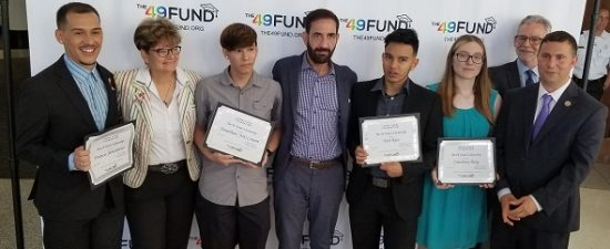 The 49 Fund awards scholarships to LGBTQ students
