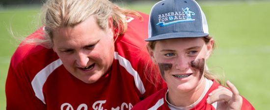 Trans coach boosting visibility for girls' baseball
