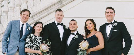 Watermark's Wedding Bells: Joshua Alex Cruz and Richard Mahoney Jr.