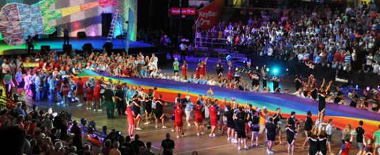 China-Taiwan tensions expected to surface at Gay Games in Paris