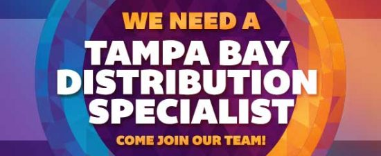 Watermark is hiring! Tampa Bay Distribution Specialist needed