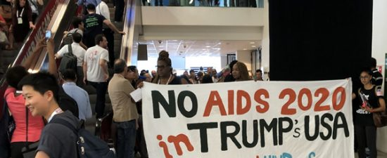 Trump policies prompt calls to move global AIDS conference out of U.S.