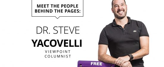 The Last Page: Dr. Steve Yacovelli