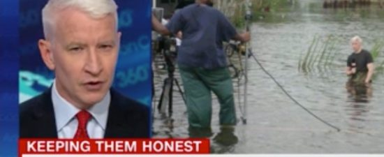 Anderson Cooper debunks hurricane conspiracy photo tweeted by Donald Trump Jr.