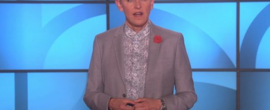 Ellen DeGeneres says she received a bomb threat after coming out