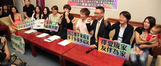 Taiwan marriage activists receive support from Evan Wolfson, HRC