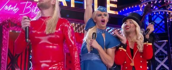 'Queer Eve' Fab Five pay tribute to Beyonce, Britney Spears on 'Lip Sync Battle'