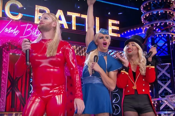 queer eve fab five pay tribute to beyonce britney spears on lip sync battle watermark online. Black Bedroom Furniture Sets. Home Design Ideas