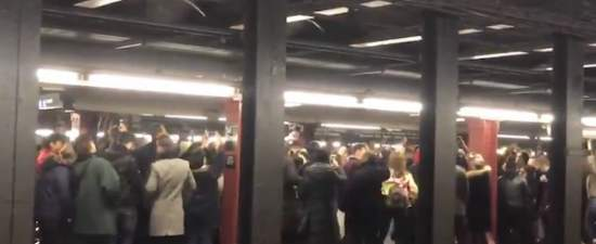 Watch: Robyn fans have spontaneous dance party in NYC subway