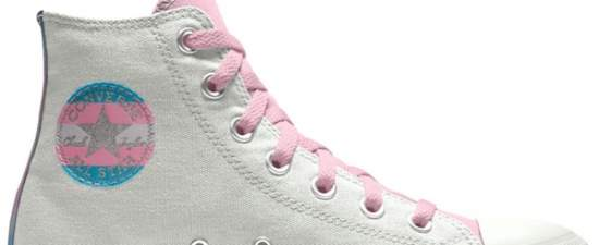 Converse releases trans-themed sneakers for Pride line