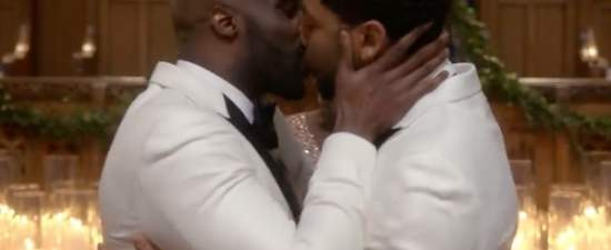 'Empire' makes history with first gay, black wedding on primetime TV