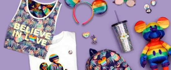 Disney releases new rainbow collection ahead of Pride month