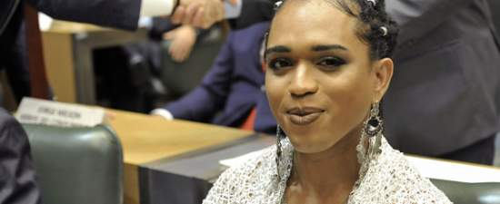 Transgender woman of African descent makes history in Brazil